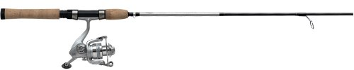 Mitchell Avocet 1-Piece Silver Spinning Combo (7-Feet, Medium Heavy)