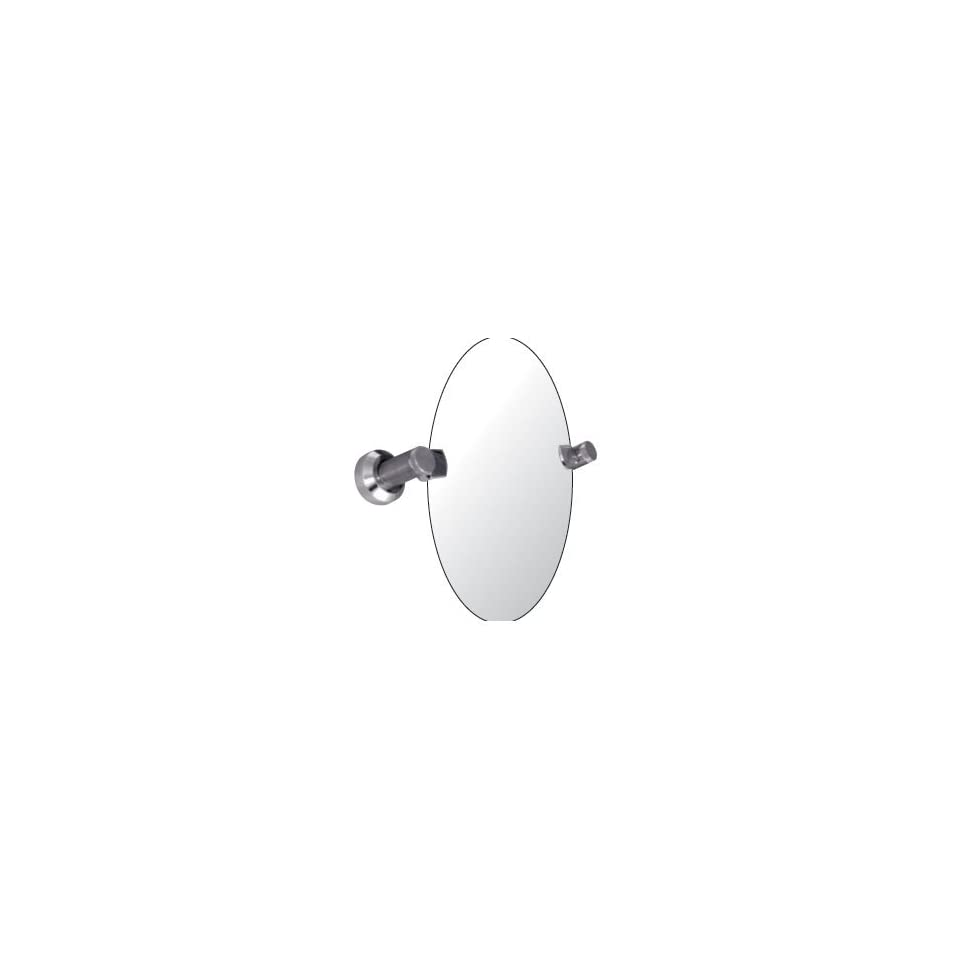 Watermark Designs 25 0.9B Polished Chrome Bathroom Accessories 24X36 Oval Swivel Mirror