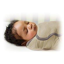 Summer Infant Matelasse SwaddleMe - Camel (Small/Medium) - 1