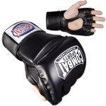 Combat Sports Pro-Style MMA Gloves – Black