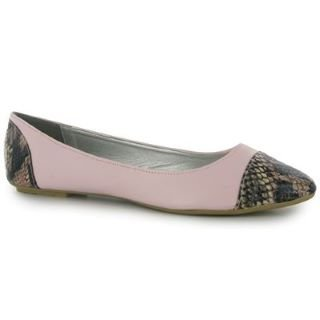 Kangol Snake Pointed Toe Ladies Ballet Pumps