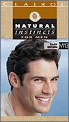 Clairol Natural Instincts Haircolor For Men, Dark Brown, M13 - 1 Ea front-839660