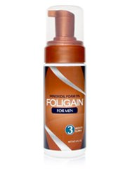 FOLIGAIN® MINOXIDIL FOAM FOR MEN 5% (177ml) 3 Month Supply