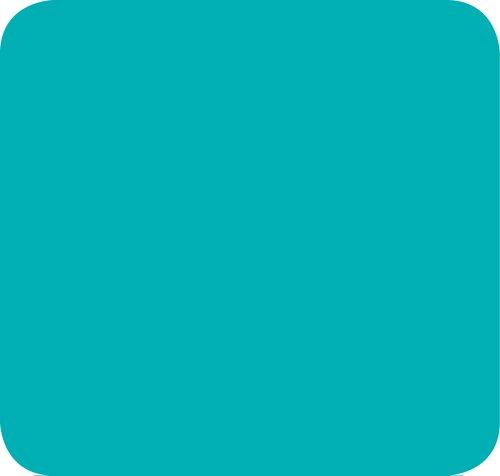 Jillson Roberts Solid Color Tissue, Aqua, 48-Sheet Count (FT44)