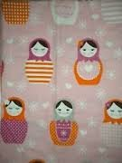 Circo Pink Lady Doll 4-Piece Full 100% Cotton Flannel Sheet Set front-856717