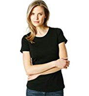 M&S Collection Pure Cotton Crew Neck T-Shirt