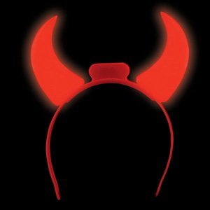 LED Devil Horns - 1 pair