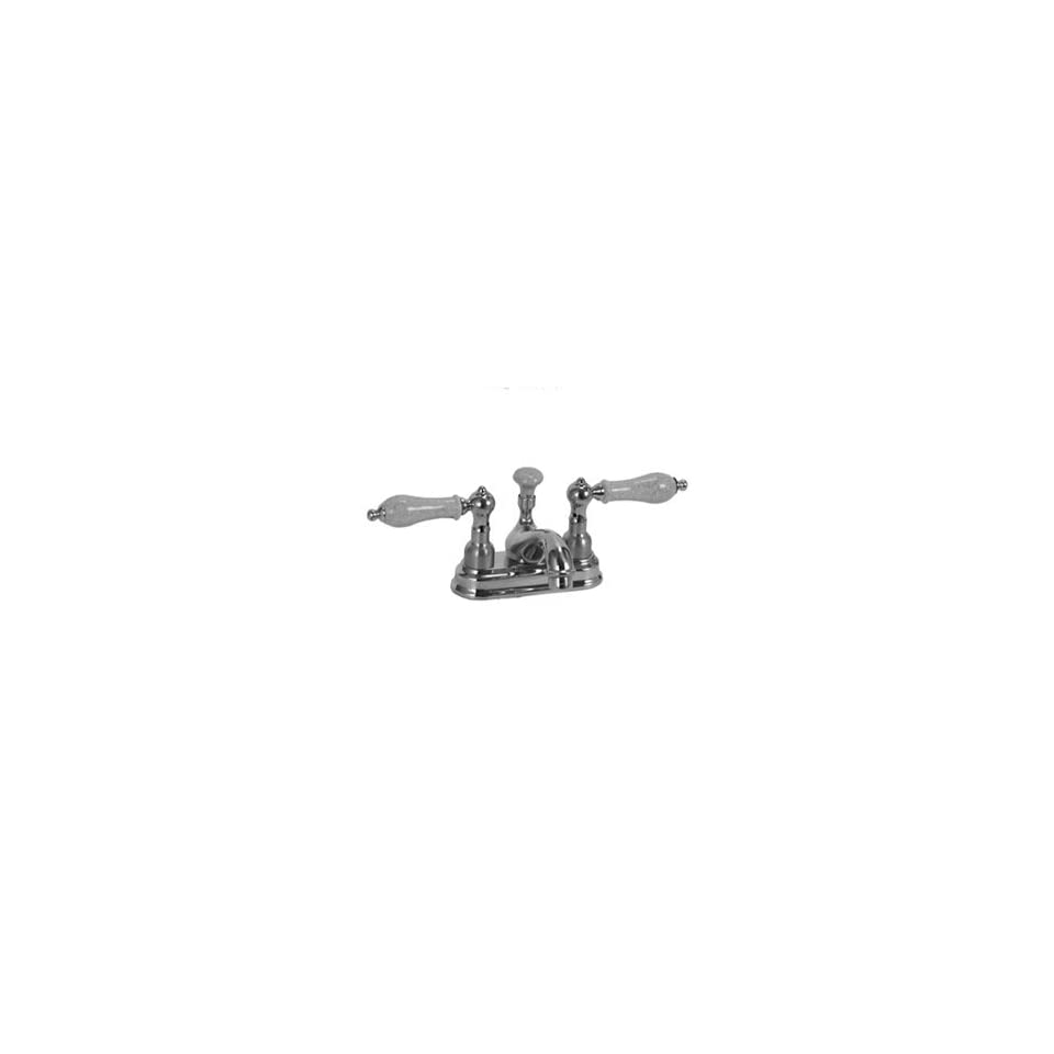 Legacy Brass CS 1495 Polished Brass Bathroom Sink Faucets 4 Centerset Lav Faucet