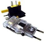 デバイスネット ゴーコン(クリアタイプ):合体型マルチ電源形状変換プラグ RW34C