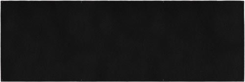 Outdoor Turf Rug - Black - 10' x 30' - Several