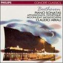 """Beethoven : Sonates  pour piano n� 8 """"Path�tique"""", n� 23 """"Appassionata"""" et n� 14 """"Clair de Lune"""""""