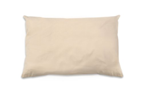 Naturepedic Organic Cotton Pillow with PLA Fiber Filling, Standard