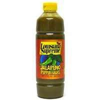 Louisiana Supreme Jalapeno Pepper Hot Sauce Cajun Pack Of 2 Bottles