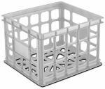 Sterilite 16928006 Storage Crate, White - Quantity 1