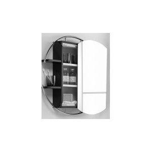 Hudson Reed Sphere Round Mirror Cabinet LF219 Kitchen Home