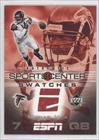 Michael Vick Atlanta Falcons (Football Card) 2005 Upper Deck ESPN Sports Center Swatches #SCS-MV