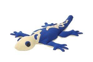 Hot PETS, Lizard. Dark blue. Stuffed animal. Fair Trade, Natural. Handmade by micro-sensations