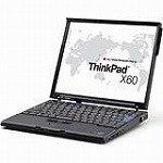 レノボ・ジャパン ThinkPad X60 (T55/512/60/XP/12TFT)T 1709AJ1