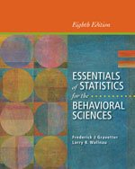 Essentials of Statistics for Behavioral Science with Aplia