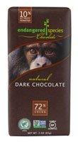 Endangered Species Chocolate Natural Dark Chocolate -- 3 Oz