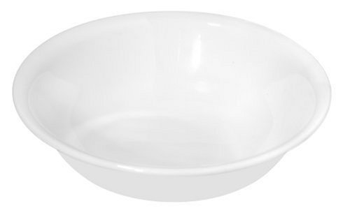 Corelle Winter Frost Bowls White Dessert 10 Oz (Pack of 6)
