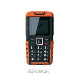 ITTM Outdoor-Handy ohne Branding (Dual SIM, Bluetooth, SOS, IP57 wasserfest, stoßfest) orange/schwarz