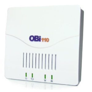 OBi110 Voice Service Bridge and VoIP Telephone Adapter