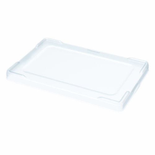 Akro-Mils 33023 Clear Snap on Plastic Lid for Akro-Mils 33220, 33223, 33224, 33226, 33228 Grid Box, Case of 3