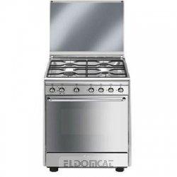 Cucina a Gas Prezzo: SMEG CX60SV9 CUCINA 60X60 4F/GAS CL.A-10% F ...