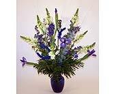 Dream Blue Flower Bouquet