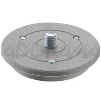 Manfrotto 400PL- LOW 13MM Tall Low Quick Release Plate for 400 and 3263 Geared HeadsB0000AE65T