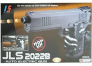 JLS 2022B Full/Semi Auto Blowback Electric Airsoft Pistol Gun —NEW!!