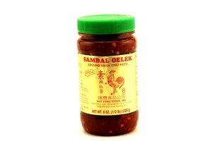 huy fong sambal oelek (ground fresh chili paste) - 8oz [6 units] (024463061071)