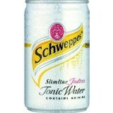 Schweppes Tonic Water Slimline cans Soft Drinks 150ml x 24