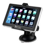 HX-806 5.0-inch LCD Screen Windows CE.NET6.0 4GB GPS Navigator with FM Transmitter and Norway Map