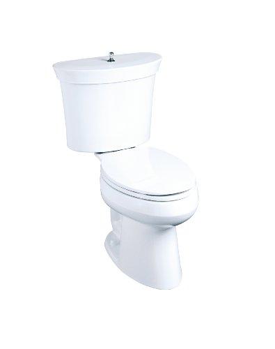 Buy KOHLER K-4608-0 Serif Toilet Tank, White (Tank Only) | Kohler ...
