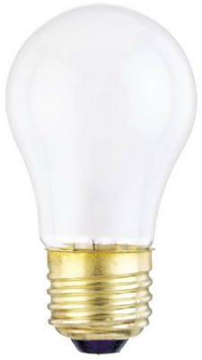 Westinghouse Lighting 03929-99 2-Pack 25-Watt Frosted Light Bulbs Light Bulbs, Appliance back-615830
