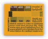 放射線測定ステッカー :RADSticker