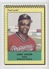 Sonny Jackson CO Roland Jackson (Baseball Card) 1991 Richmond Braves ProCards #2587 by Richmond Braves ProCards