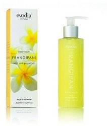 Evodia - Evodia Frangipani Body Wash Infused W/ Pink Grapefruit 200ml (1 pack of 6 items)