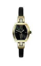 Ted Baker Three Hand Black Leather Women's watch #TE2057