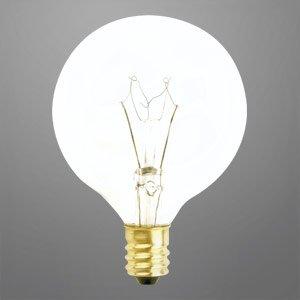 Decorative Vanity Light Bulbs : DECORATIVE VANITY GLOBE LIGHT BULB G16.5 25 WATTS LONG LIFE - - Amazon.com