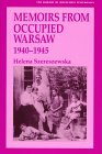 img - for Memoirs from Occupied Warsaw 1940-1945 (The Library of Holocaust Testimonies) book / textbook / text book