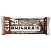 Clif Bar Builder Bar Vanilla Almond 2.4 Oz ( Value Bulk Multi-Pack)