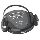 Insignia Portable CD Player with Skip Protection, CD-R, CD-RW