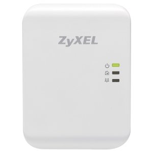 ZyXEL PLA4205 HomePlug AV 500 Mbps Powerline Wall-plug Adapter