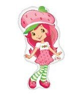 Anagram International 1933201 Strawberry Shortcake Pose Balloon Pack, 31""