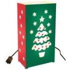 Christmas Tree Electric Luminarias Kit - Pack Of 10