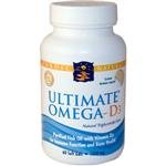 Nordic Naturals Ultimate Omega D3 - Pack of 60 Capsules