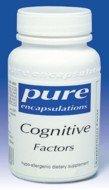Pure Encapsulations - Cognitive Factors 120 Vcaps